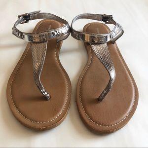Tommy Hilfiger Metallic Sandal